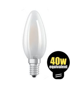 Osram LED Candle 4w (=40w) SES Pearl