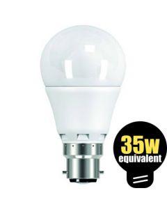 LED GLS 5.5w (=35w) BC
