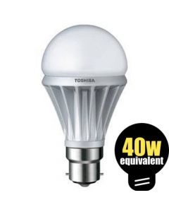 Toshiba LED GLS E-Core 5.5w BC Warm White