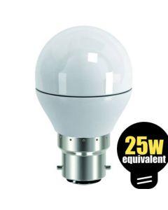 LED Golfball 4w (=25w) BC